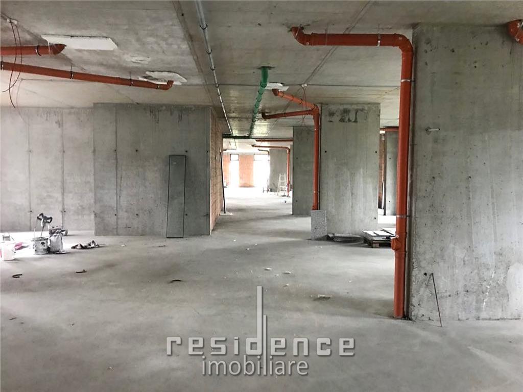 Spatiu comercial nou, 1600mp, open space, Gheorgheni, zona Iulius Mall