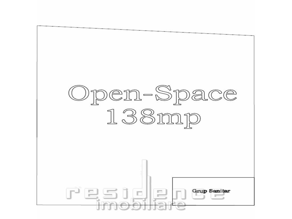 Spatiu comercial cu fatada vitrata, 138mp, openspace, cartier Borhanc