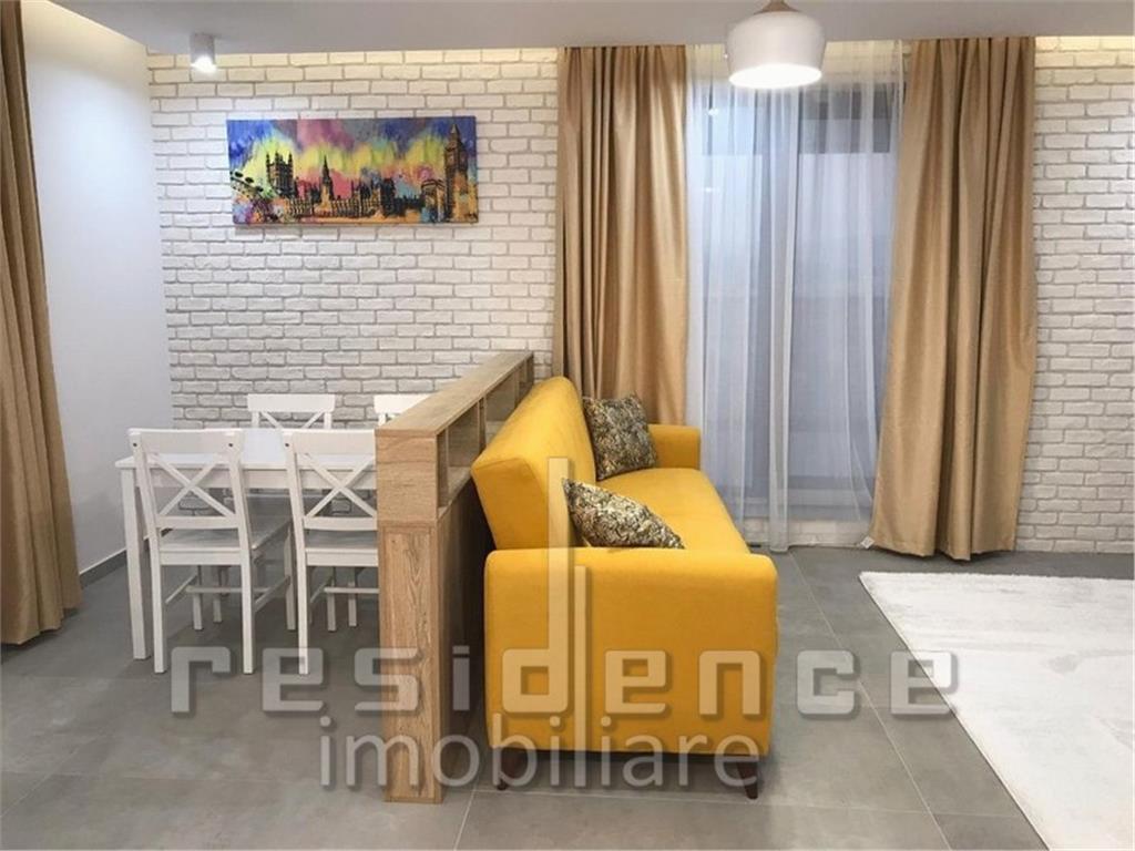 Apartament 63mp. LUX 2 camere + Garaj, Semicentral, zona The Office