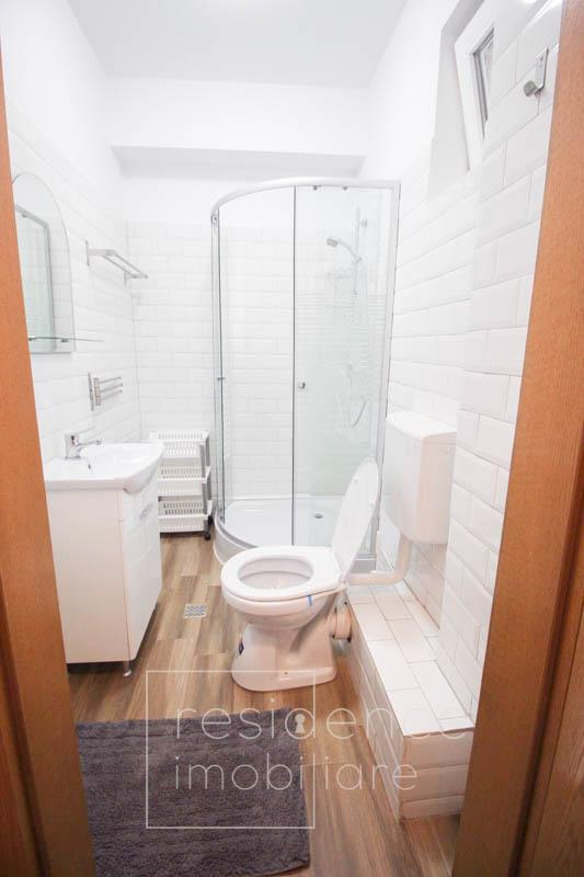 Pet friendly! Apartament o camera renovat, 35 mp, zona Semicentrala, Horea, Curte
