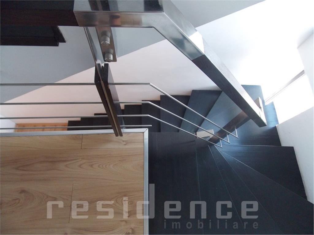 Vila insiruita 6 camere, mobilata, 170 mp in Europa+Curte 200 mp