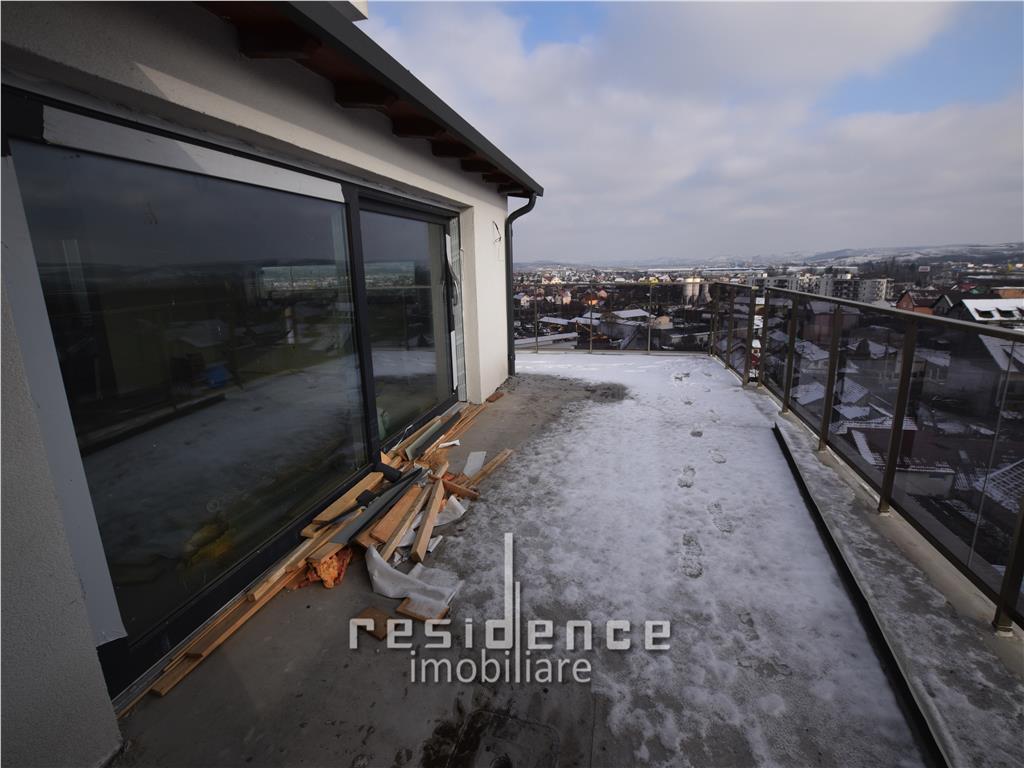 Apartament 4 camere 135 mp, terasa 65 mp, Marasti, pod Ira + Garaj