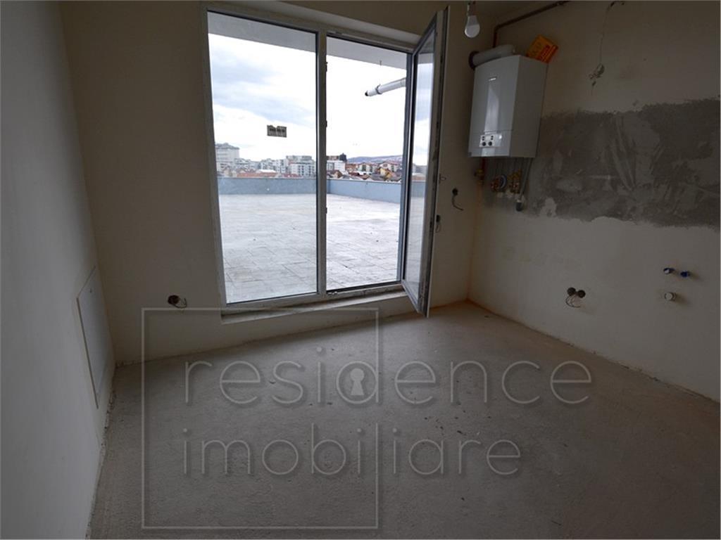 Apartament 2 camere semifinisat in Zorilor, Sigma, Terasa 14mp, Garaj