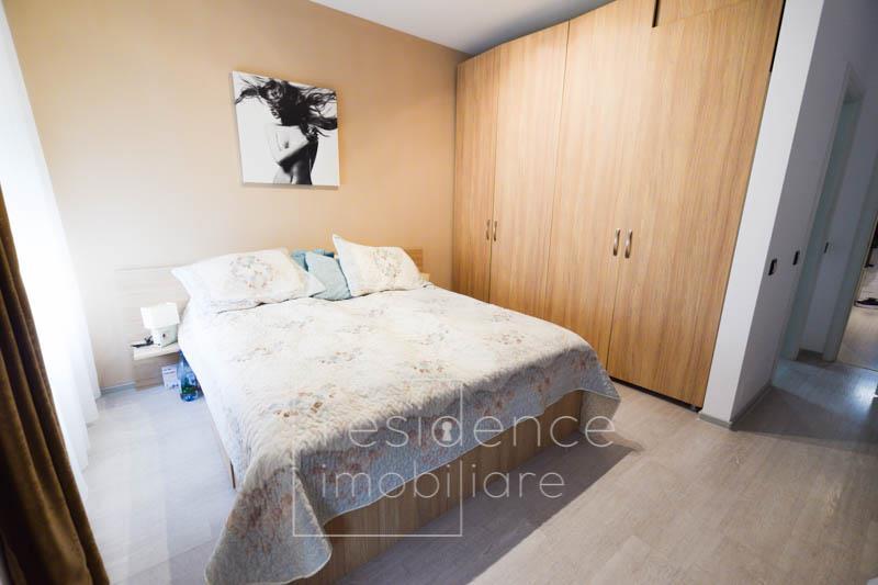 Apartament 3 camere semidecomandat, imobil nou in Europa + Garaj