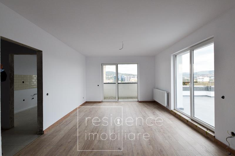 Terasa 100 mp! Apartament 2 camere finisat, Marasti, Piata 1 Mai