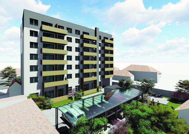 Apartament 2 camere, 45 mp, Imobil nou, Centru, zona Horea