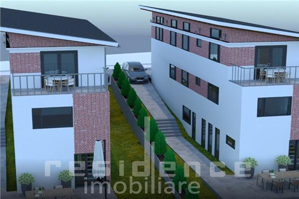 Apartament in duplex, 5 camere, 120 mp, Dambul Rotund + Gradina 52mp